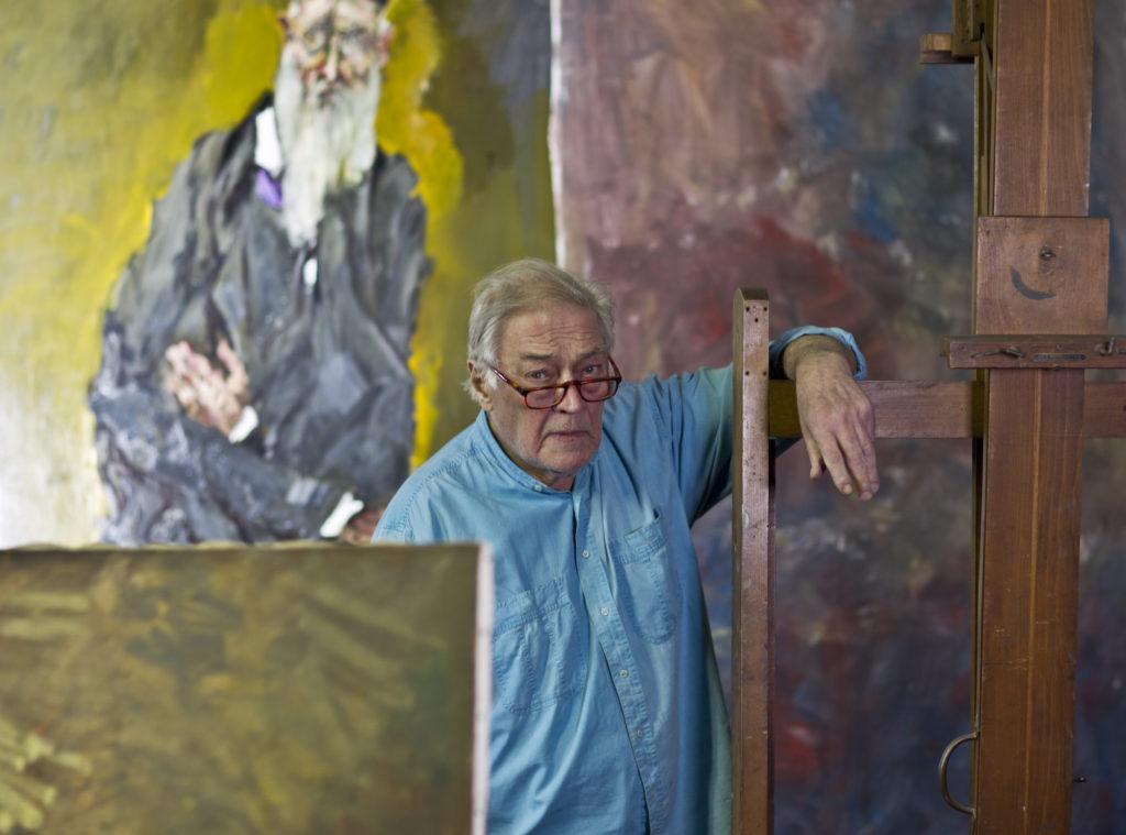 Bellano, 29/01/12 Gian Carlo Vitali nel sup studio a Bellano Photo: © Carlo Borlenghi